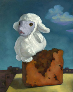 Sitting Sheep by Alexandria Levin