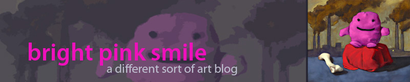 Bright Pink Smile blog header by Alexandria Levin