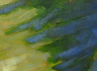 Encompassing Light (detail), painting by Alexandria Levin